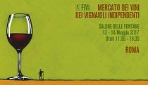 13-14 maggio 2017 – Roma Mercato dei Vini FIVI