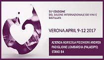 9-12 aprile 2017 – Verona Vinitaly 2017