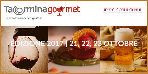 21-23 ottobre 2017 – Giardini-Naxos (ME) Taormina Gourmet