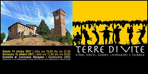 14-15 ottobre 2017 – Castelvetro (MO) Terre di Vite