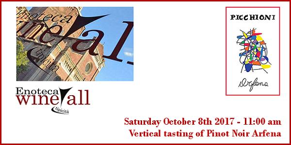 october 7 2017 pavia vertical tasting of pinot noir arfena wine