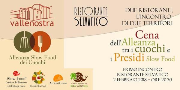2 febbraio 2018 – Rivanazzano (PV) Cena dell'Alleanza al ristorante Selvatico