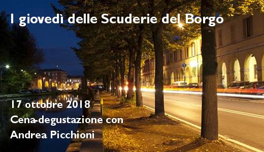 18 ottobre 2018 – Pavia I giovedì delle Scuderie del Borgo