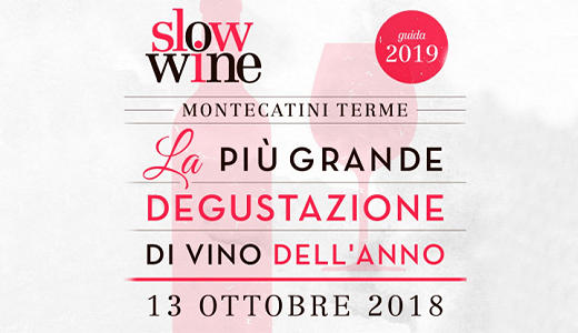 October 13 2018 – Montecatini Terme (PT) Presentation of the Slow Wine guide 2019