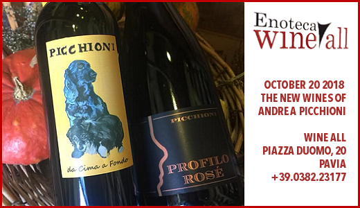 Picchioni tasting at Wine All (Pavia, October 20 2018)