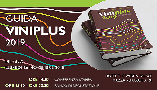 November 26 2018 – Milan Presentation of the 2019 AIS Lombardy Viniplus guide