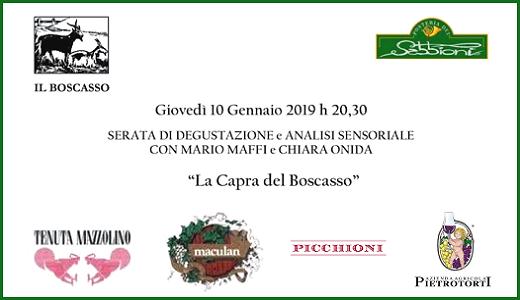 10 gennaio 2019 – San Martino Siccomario (PV) Cena degustazione all'Antica Posteria dei Sabbioni