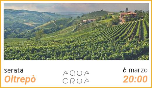 March 6 2019 – Barbarano Vicentino (VI) Oltrepò Pavese tasting @ Aqua Crua