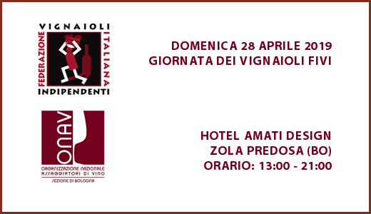 28 aprile 2019 – Zola Predosa (BO) Giornata dei vignaioli FIVI Bologna