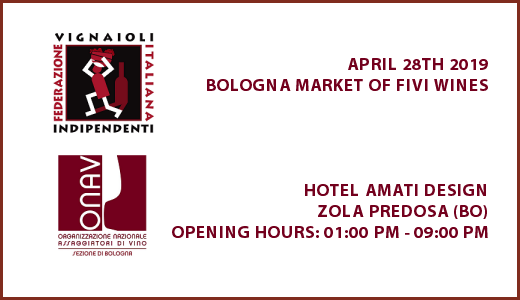 April 28 2019 – Zola Predosa (BO) Bologna market of FIVI wines
