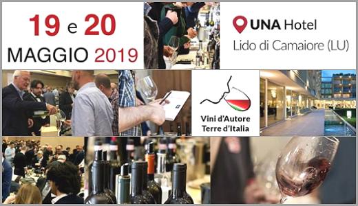 19-20 maggio 2019 – Lido di Camaiore (LU) Vini d'Autore 2019