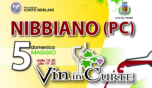May 5 2019 – Nibbiano (PC) Vin in Curte festival