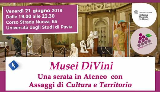 Musei DiVini - Assaggi di cultura e territorio (21/06/2019)