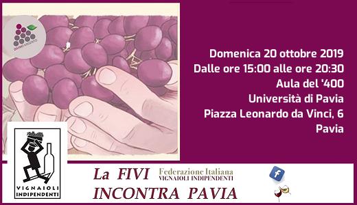 October 20 2019 – Pavia FIVI Oltrepò Pavese tasting