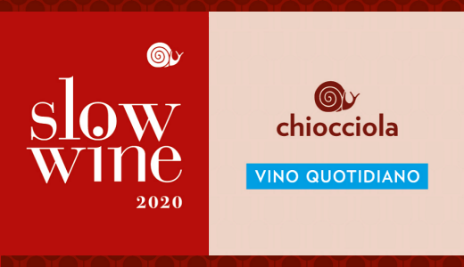 September 2019 Two Slow Wine awards for our winery
