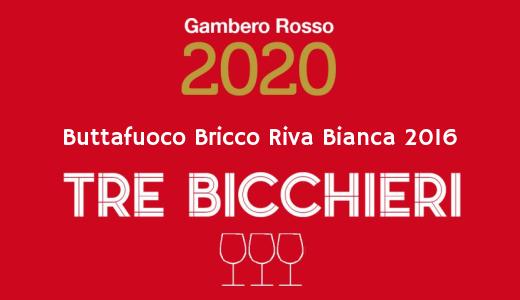 Buttafuoco Bricco Riva Bianca 2016 - Tre Bicchieri 2020