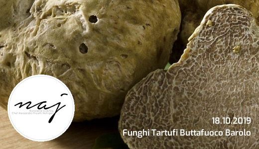 "October 18 2019 – Stradella (PV) ""Mushrooms Truffles Buttafuoco Barolo"" dinner at Villa Naj"