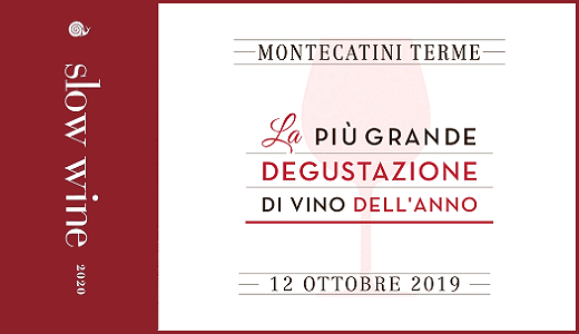 October 12 2019 – Montecatini Terme (PT) Slow Wine 2020 tasting