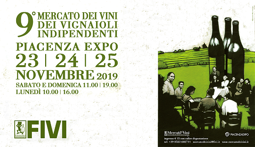 November 23-25 2019 – Piacenza Market of FIVI wines