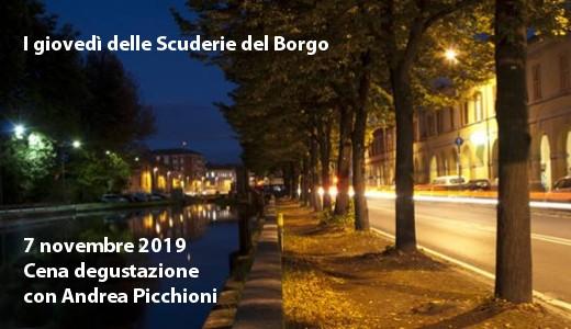 Cena alle Scuderie del Borgo (Pavia, 07/11/2019)