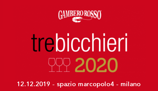 December 12 2019 – Milan Three Glasses 2020 tasting