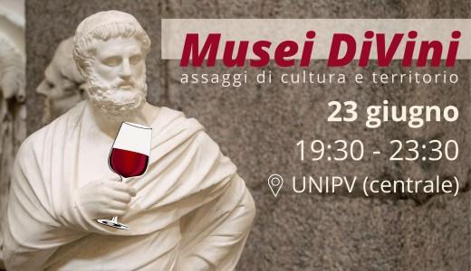 23 giugno 2021 – Pavia Musei DiVini – Assaggi di cultura e territorio