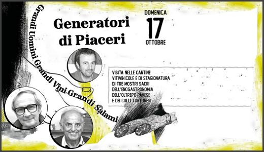 Generatori di piaceri (17/10/2019)