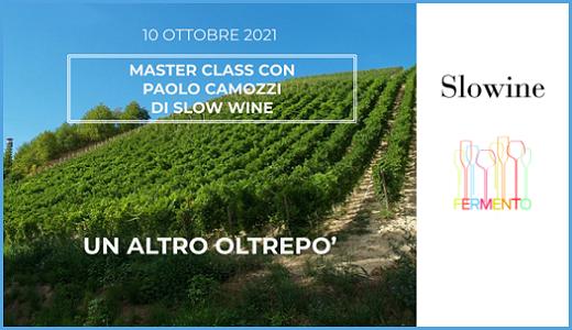 Masterclass Slow Wine (Milano, 10/10/2021)